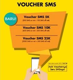 Paket SMS Telp Paket SMS & Telp Indosat - 300 SMS Sesama + 100 SMS Opt lain